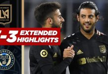 LAFC vs Philadelphia Union Highlights 3:8:20
