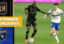 LAFC vs San Jose Earthquakes Highlights 9:2:20
