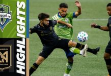 LAFC vs Seattle Sounders Highlights 8:30:20